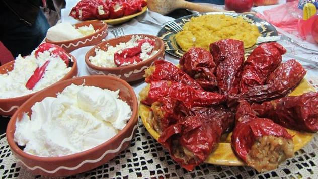 Vurda u svim varijantama, punjene posne suve paprike, seoska proja, banica... - foto: Ljiljana Grozdanović