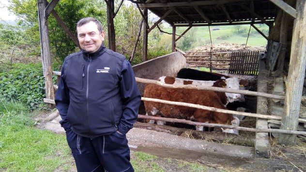 Mileta Trišić, stočar iz okoline Lajkovca - © Foto: Dejan Davidović