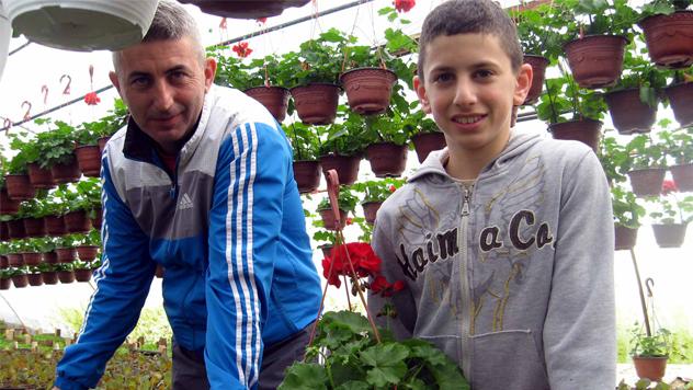 Dejan Tošić sa sinom © Foto: Biljana Nenković