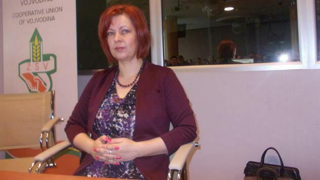 Jelena Nestorov, sekretar Zadružnog saveza Vojvodine - © Foto: Petar Kočić