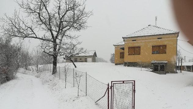 Zavejane škole u okolini Kraljeva - ©Vlado Baralić