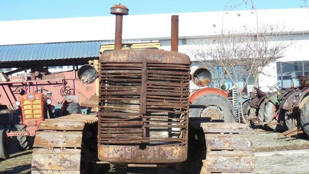 Najstariji traktor u muzeju © Foto: FB stranica Muzeja Žeravica