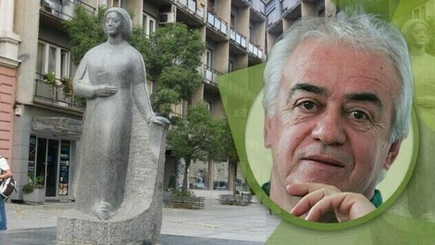 Spomenik Desanki Maksimović u Valjevu - © Budimir Novović/Agromedia