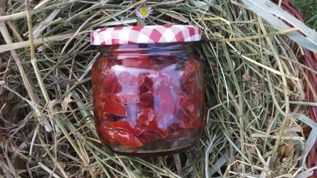 Sušeni paradajz prava atrakcija - © Julijana El Omari/Agromedia