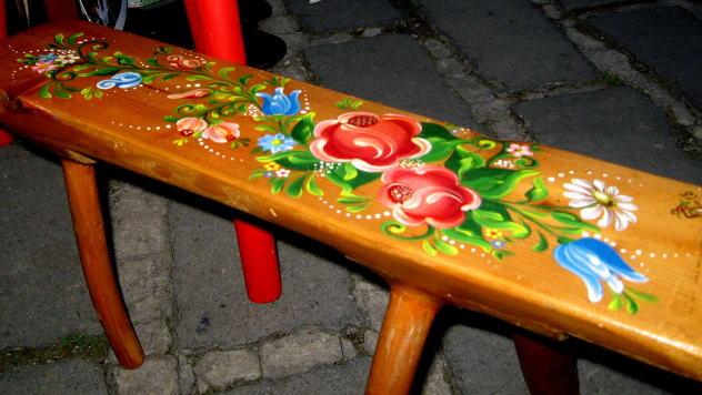 Suveniri - oslikana hoklica © foto: Biljana Nenković