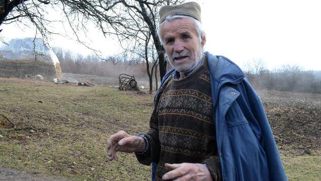 Vladimir Đokić iz sela Ramaća - © Foto: Biljana Nenković